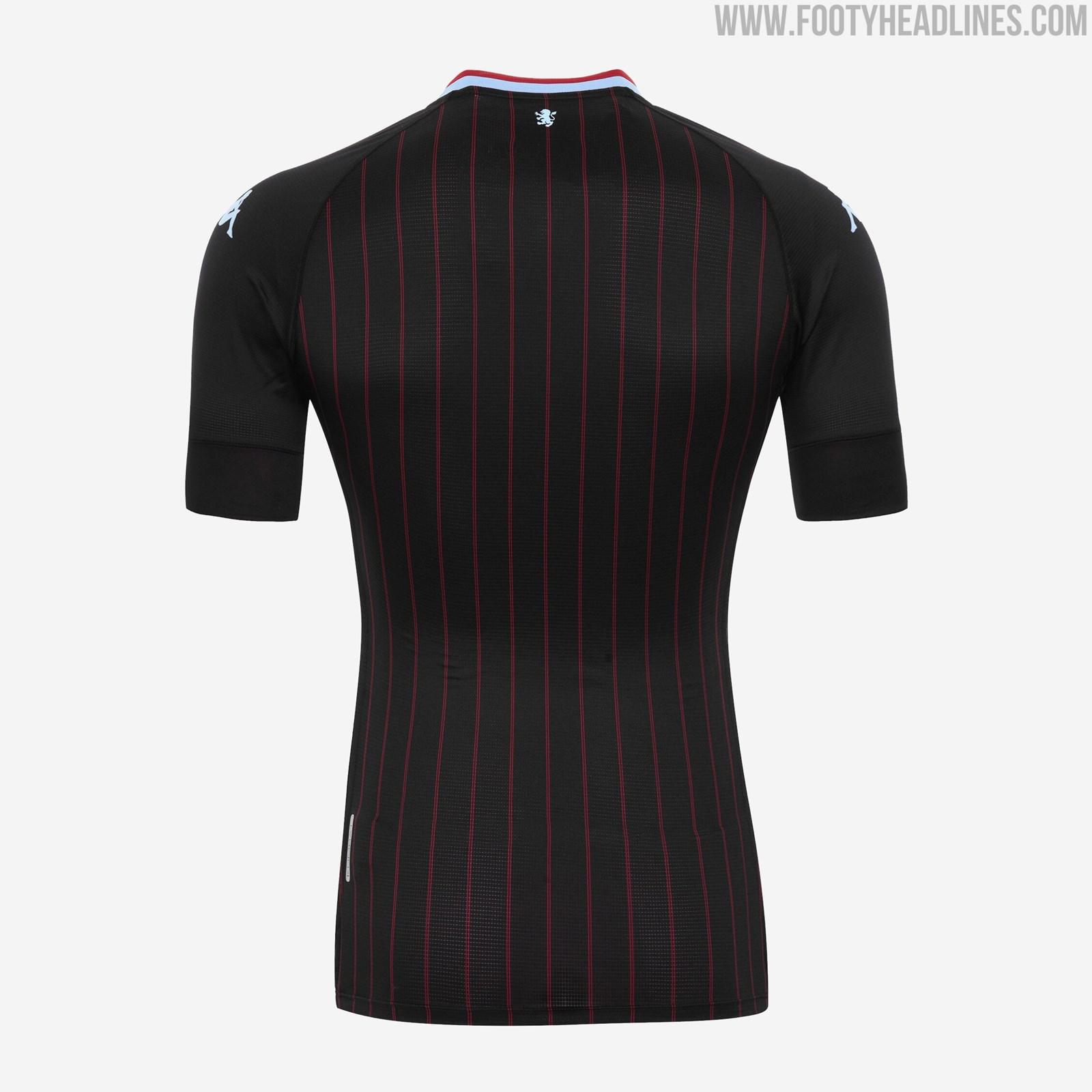 Aston Villa 20-21 Away Kit Released + Third Kit Leaked ...