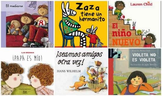 libros infantiles sobre celos y rivalidad entre hermanos