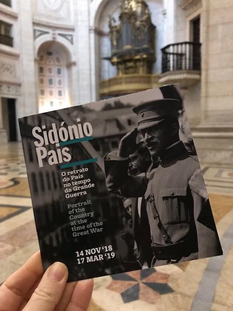 Exposição Sidónio Pais, Panteão Nacional