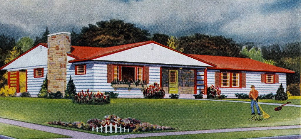 Mad For Mid Century Authentic Mid Century Landscaping With Grace