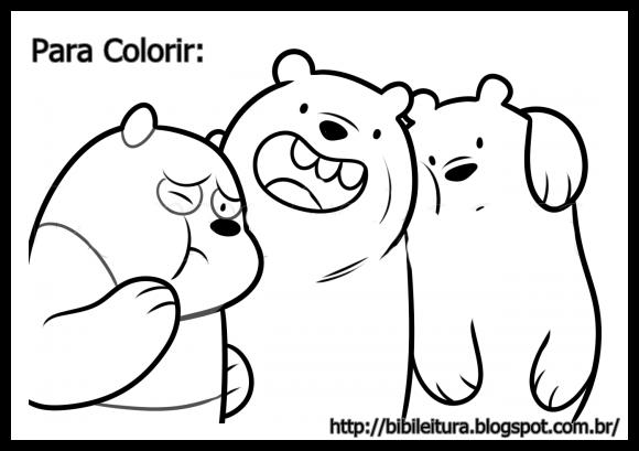 Bibi Leitura : Desenhos Para Colorir Do URSOS SEM CURSO