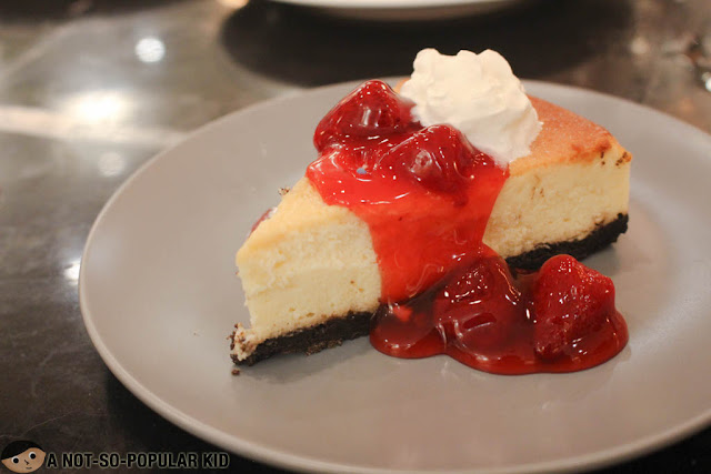 Strawberry Cheesecake of Marciano's