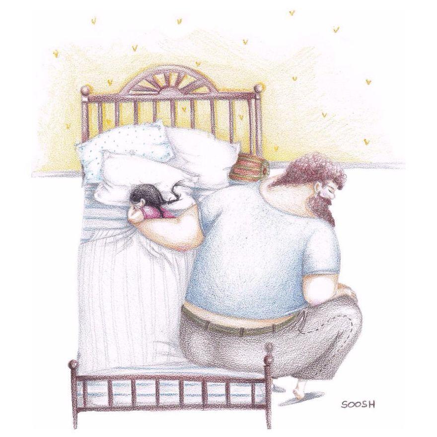 O amor entre pai e filha