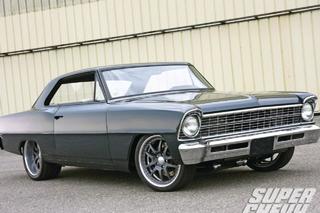 1967 Chevy Nova hot rod pictures gallery - Hot Rod Cars