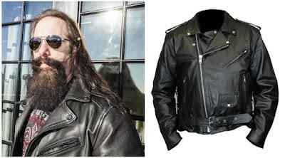 Gambar Jaket Kulit John Petrucci Dream Theater
