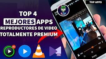 Top 4 Apps mejores para Reproducir Videos en Android, Calidad 1080p, HD, 2K, 4K& Mas...