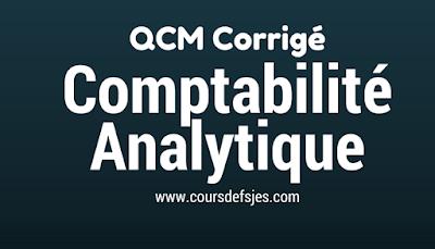 QCM Comptabilité analytique corrigé