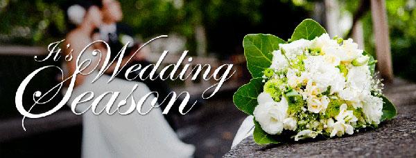 Mùa cưới là mùa nào trong năm ?