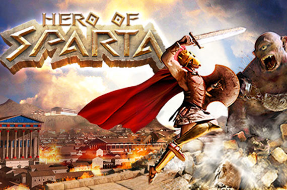 Hero of Sparta cover