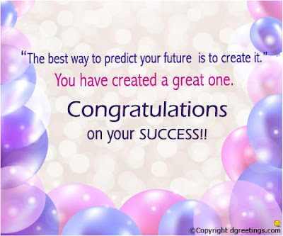 Best Cogratulations Images On Sucess Of Friends