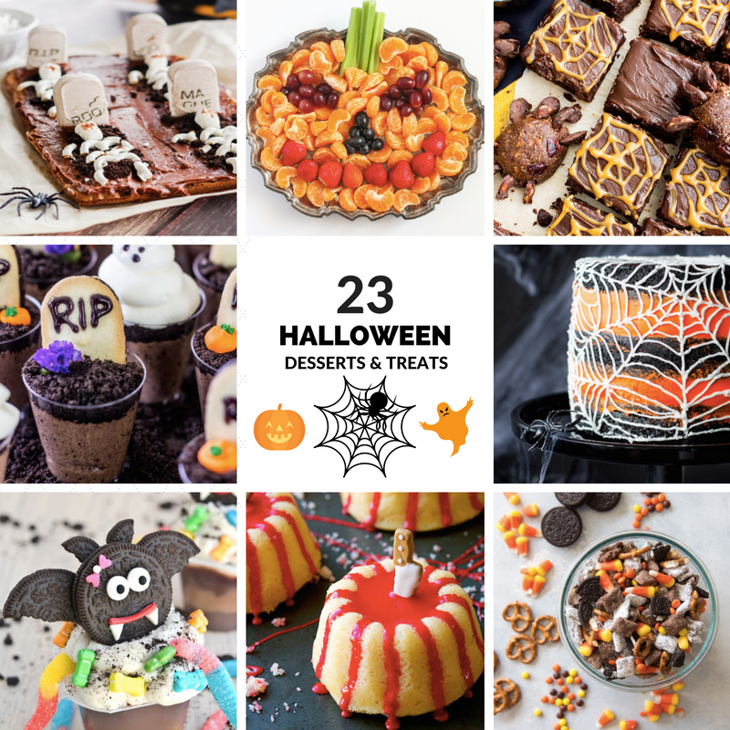 23 homemade halloween desserts and treats and a cash for Easy halloween cakes to make at home