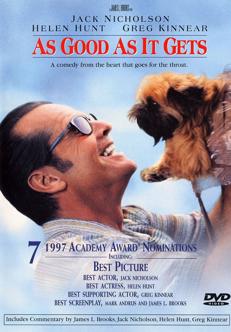 as good as it gets critic Janet maslin reviews james l brooks's film as good as it gets, with helen hunt and jack nicholson photo (m.