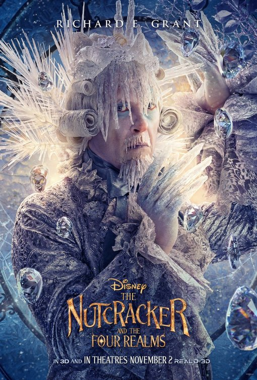 Nutcracker and Four Realms Shiver poster