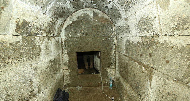 Hellenistic burial chamber unearthed in northern Turkey