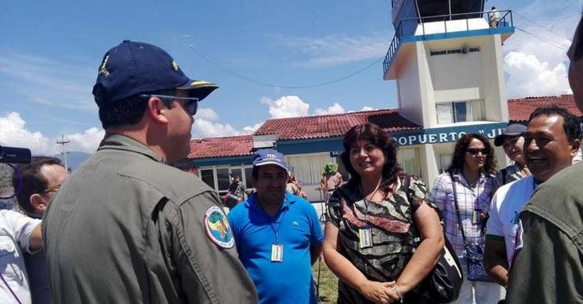 FAP inició vuelos cívicos Rioja - Lima con pasajes desde 100 S/. (San Martín)