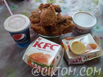 KFC Holiday Bucket bersama keluarga tersayang