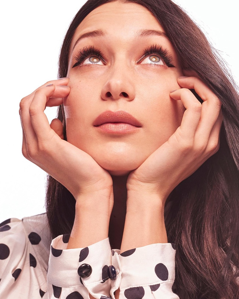 Editorial: Bella Hadid Stars in The Sunday Times Style April 2017 Cover Story
