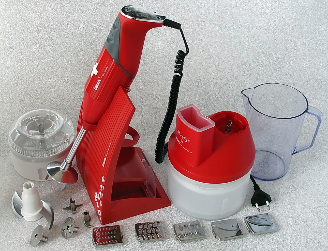 Bamix Superbox rosso, edizione limitata 2013