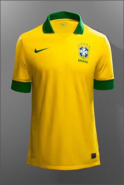 Kostum Brazil Piala Dunia 2014