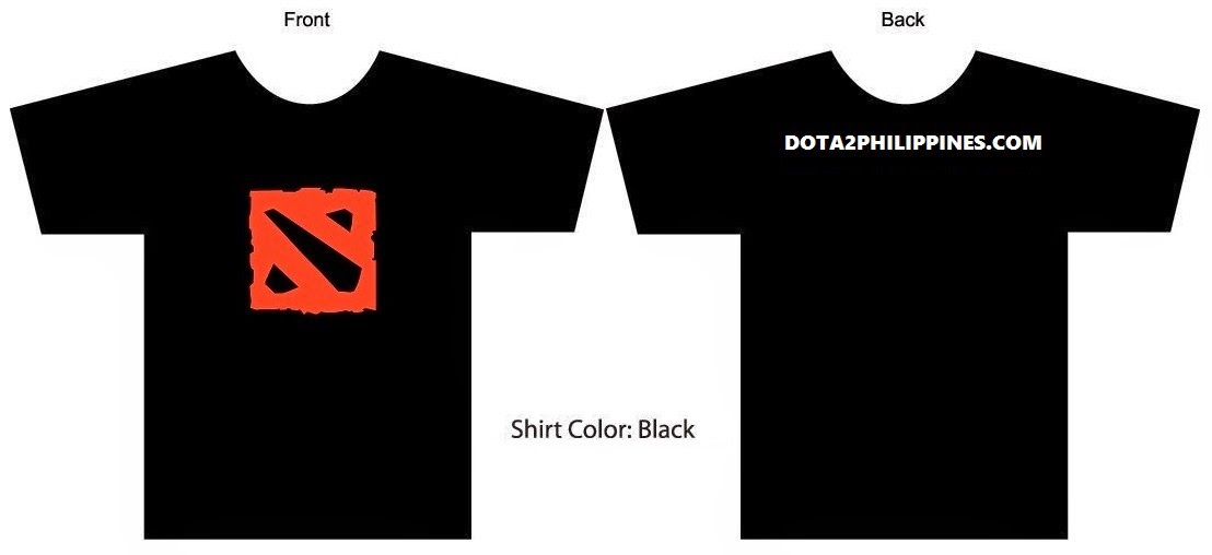 Dota 2 Philippines Shirts Beta Batch - Rejected Shirts Limited
