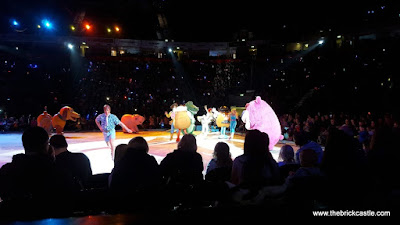 Disney On Ice  worlds Of Enchantment Toy Story cast on the ice