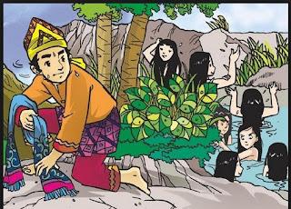 Cerita Jaka Tarub, Cerita Rakyat jaka tarub dan nawang wulan, nawang wulan