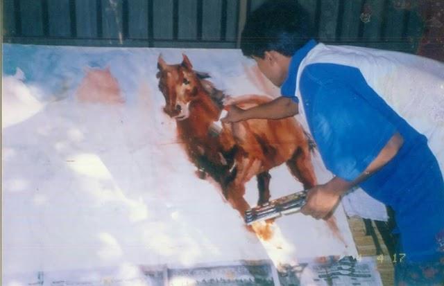 লড়াকু প্রতিভা বিরল চিত্রকর সারফুদ্দিন আহমেদ (পর্ব-১)