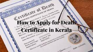Death Certificate Online in Kerala