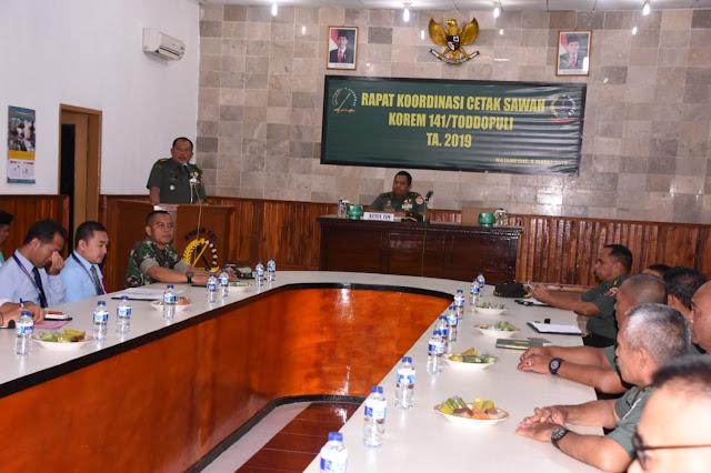 Bahas Cetak Sawah di Bone, Ini Penyampaian Mabes TNI