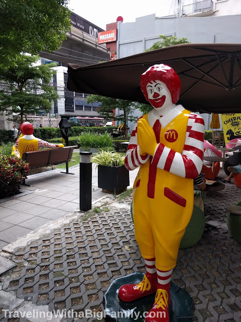 McDonald's statue in Bangkok Thailand