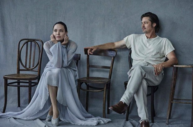 Angelina and Brad get intimate for Vanity Fair Italia November 2015