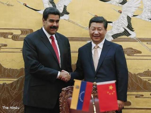Nicolas Maduro Dapat Bantuan China Naikkan Produksi Minyak dan Emas di Venezuela