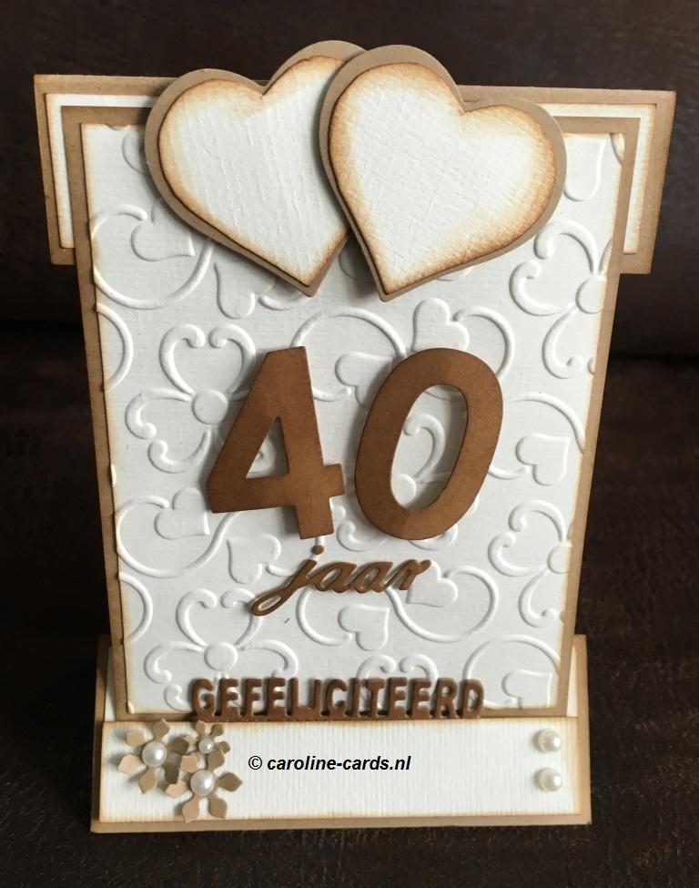 E Card 40 Jaar Getrouwd
