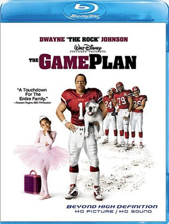 The Game Plan 2007 Dual Audio Hindi Bluray Movie Download