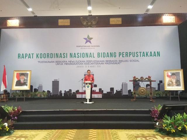 Rakornas 2019 membahas agenda penting pustakawan