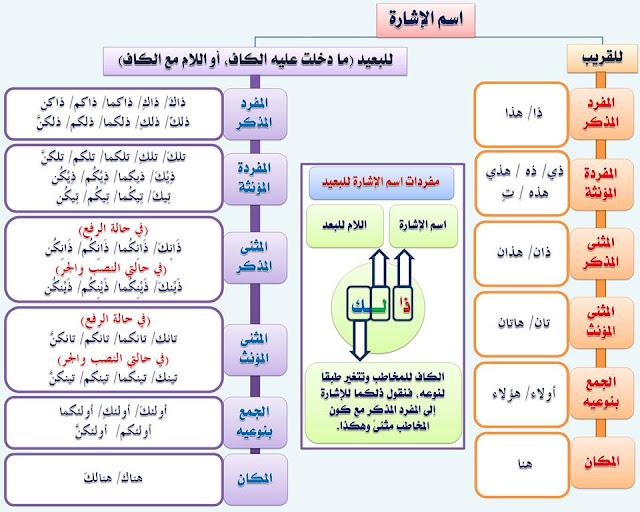 """انفراد.... كل قواعد اللغة العربية لطلاب """"ابتدائي - اعدادي - ثانوي"""" في صورة لوحات مبسطة مع الشرح والتدريبات 19"""