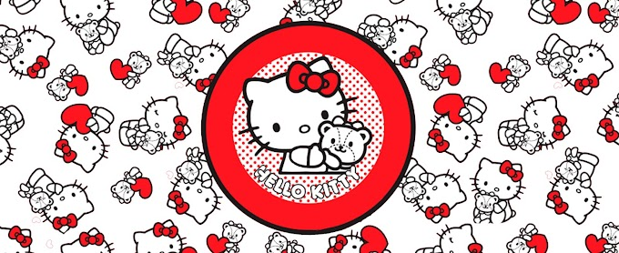 HELLO KITTY PARA TAZA DE 11 OZ.