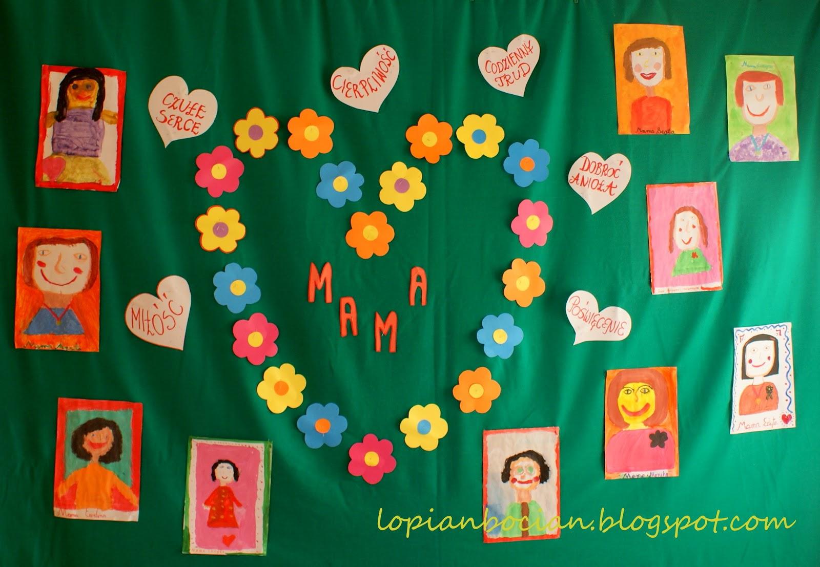 łopian I Bocian Czyli Moja Mała Ojczyzna Dzień Matki W