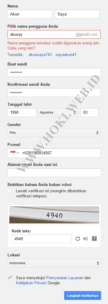 Cara Membuat Email Dengan Gmail Arsip Info