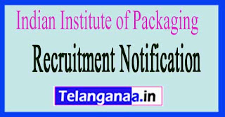 Indian Institute of Packaging IIP Recruitment Notification 2017