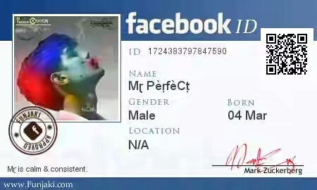Facebook Trick-make Card Id Trick-make Facebook