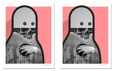 """For You My Love"" Mono Edition Print by Michael Reeder x Silent Stage Gallery"