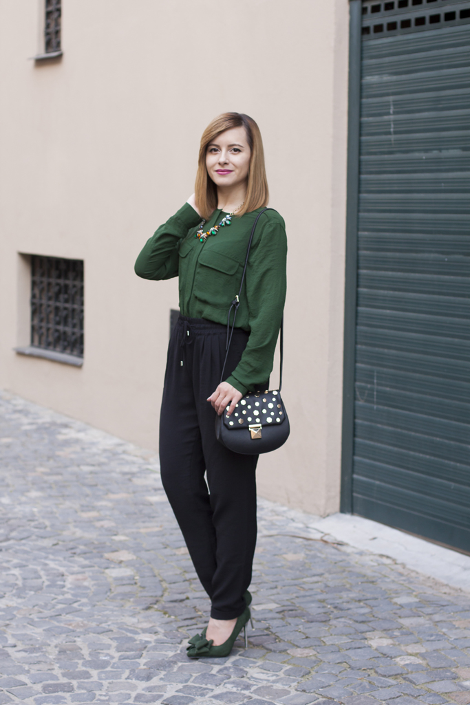 be stylish and wear green