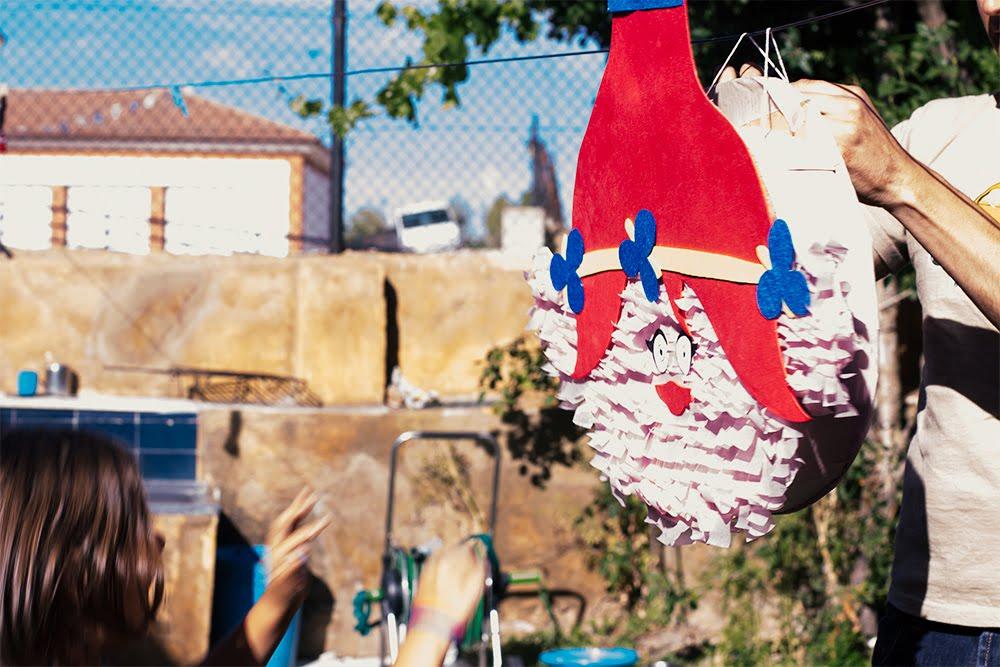 Diy, piñata de cumpleaños Trolls