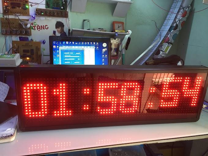 Bảng led ma trận hiện chữ đếm ngược P10 16x64 - Đa năng