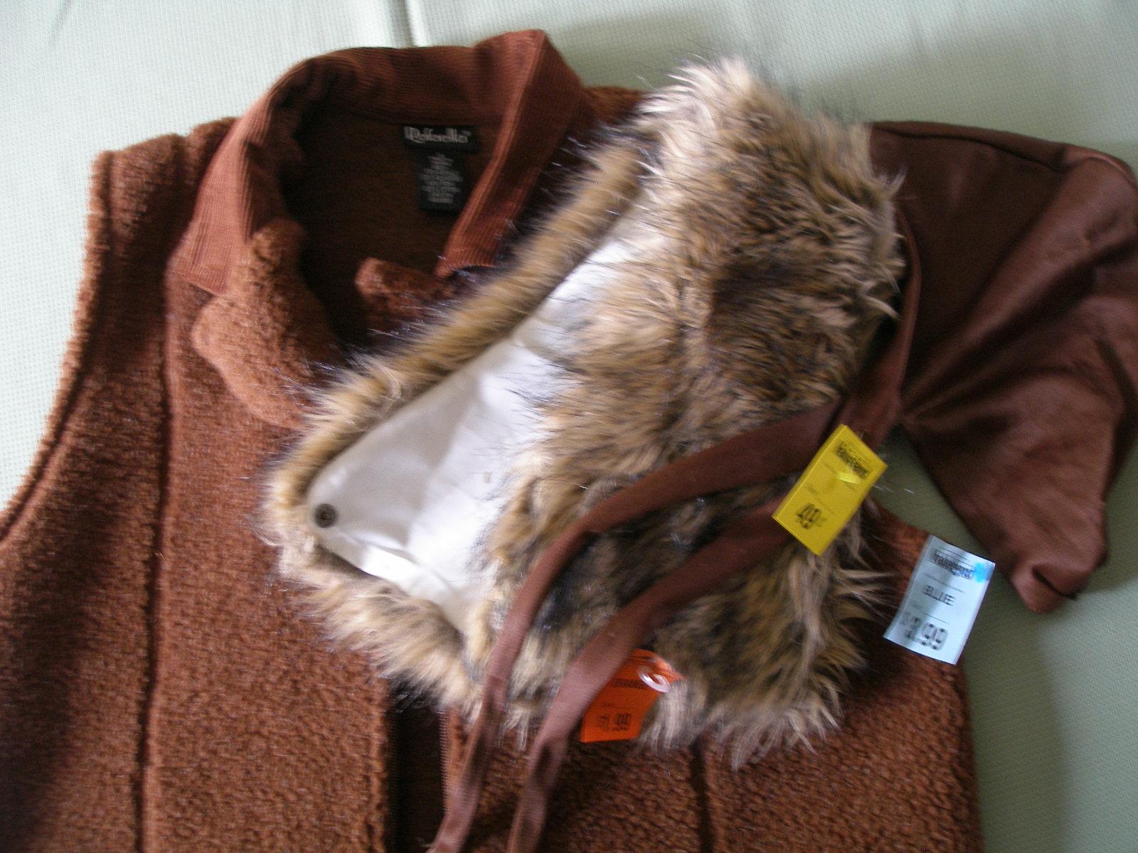 Long Hood Vest Sweater