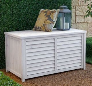 Coral Coast Gardeners Choice 45 in. Outdoor Wood Deck Box