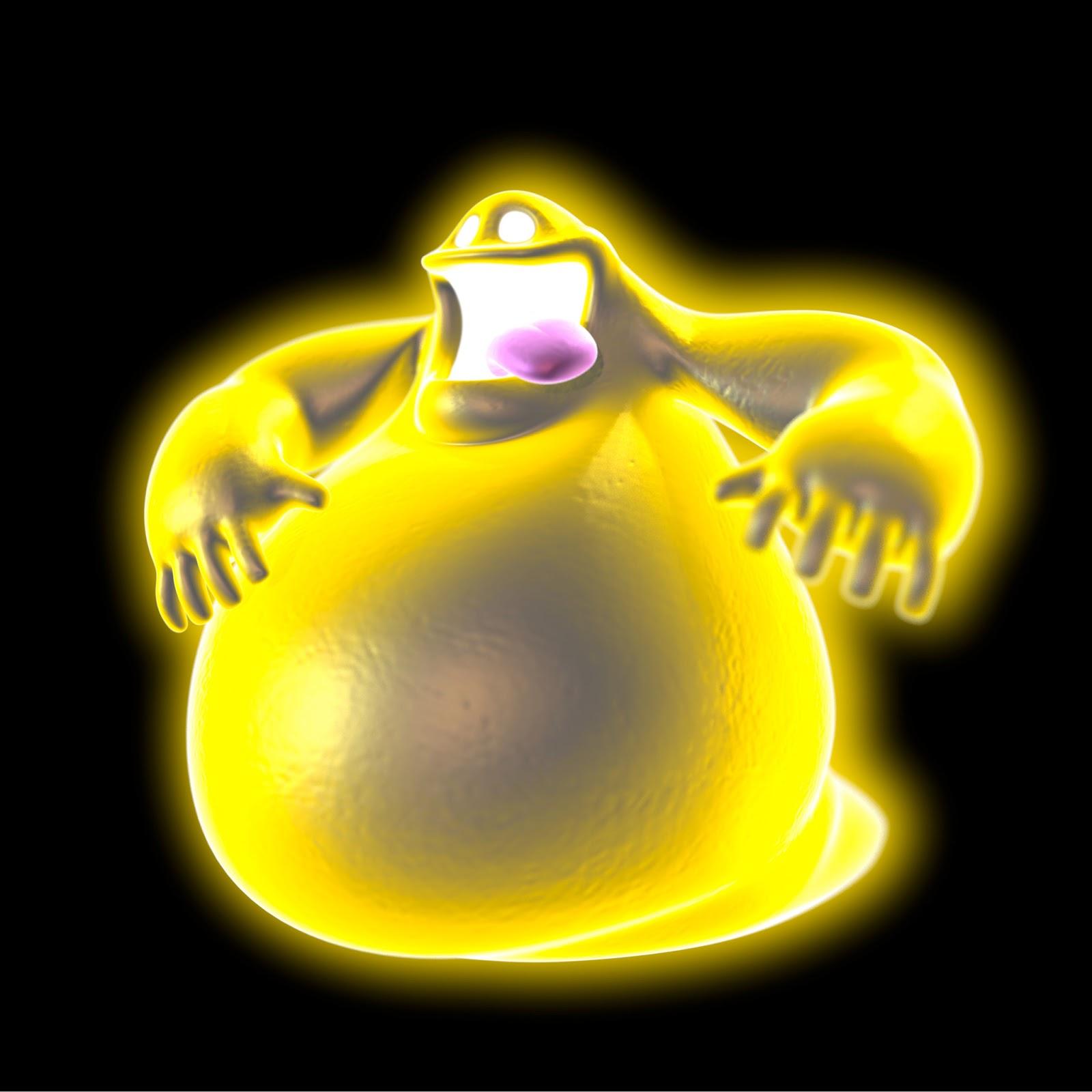 fantasma luigi's mansion-gamecube