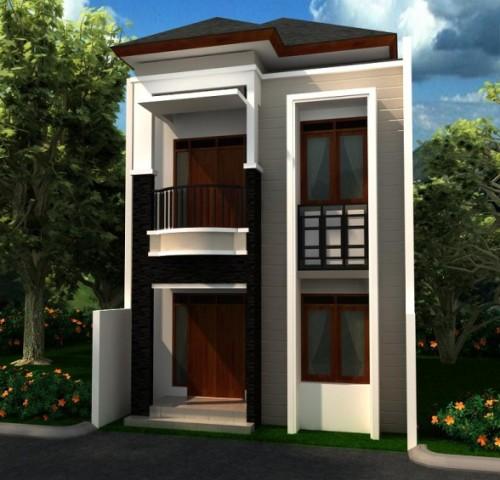 Pertimbangkan lahan yang akan di buat untuk membangun rumah minimalis