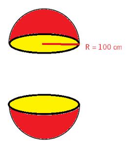 Luas Permukaan Bola soal 4